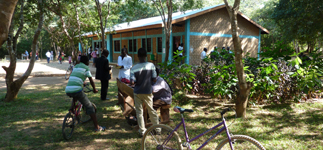 With the benefit of good buildings, textbooks, and conscientious teachers, Kapanda Secondary School is achieving good exam results