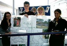 Luton Sixth Form College raised money with a variety of fundraising events