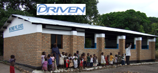 Corporate Partnerships: Driven Worldwide totally funded the construction of the Mazembe pre-school building