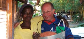 Martha with Donncha