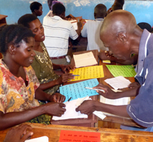 RIPPLE Africa runs two adult literacy classes in the villages of Mwaya and Mazembe