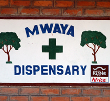RIPPLE Africa has built and supports the Community Dispensary at Mwaya