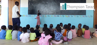 Corporate Partnerships: Thompson Taraz LLP, a leading UK fund services group, provide funding for teachers and resources for eight pre-schools