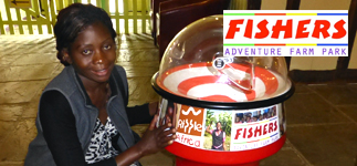 Corporate Partnerships: Fishers Adventure Farm Park raises money for the Changu Changu Moto fuel-efficient cookstove project through a variety of events