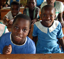 RIPPLE Africa supports six local primary schools and pays the salaries of 15 trainee teachers