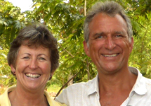 Geoff and Liz Furber, Founders