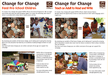 Change for Change - Adult Literacy and PreSchools
