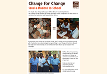 Change for Change - Scholarship