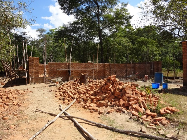 ...the progress of the new classroom block