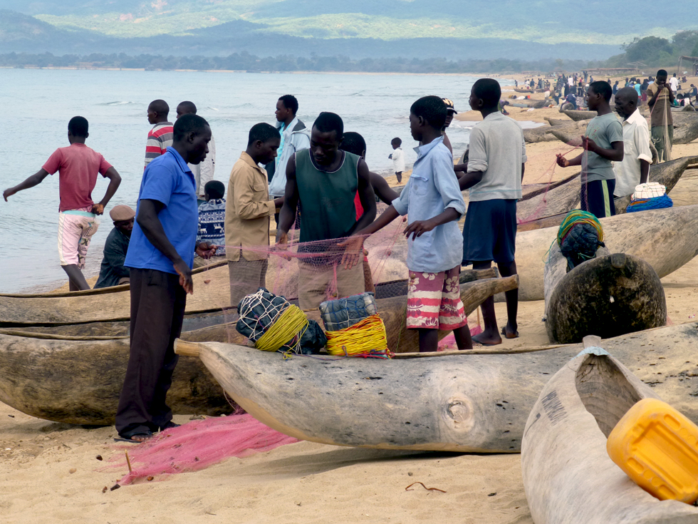 There has been a huge increase in the number of fishermen on Lake Malawi