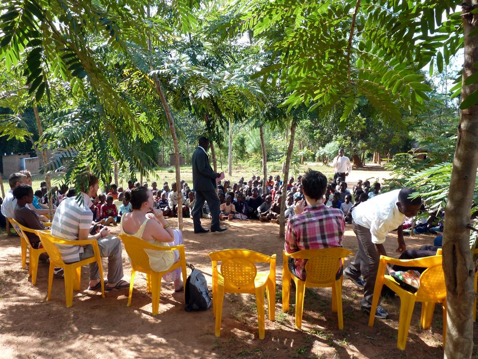 Makwalakwata Primary School has planted over 2,000 trees