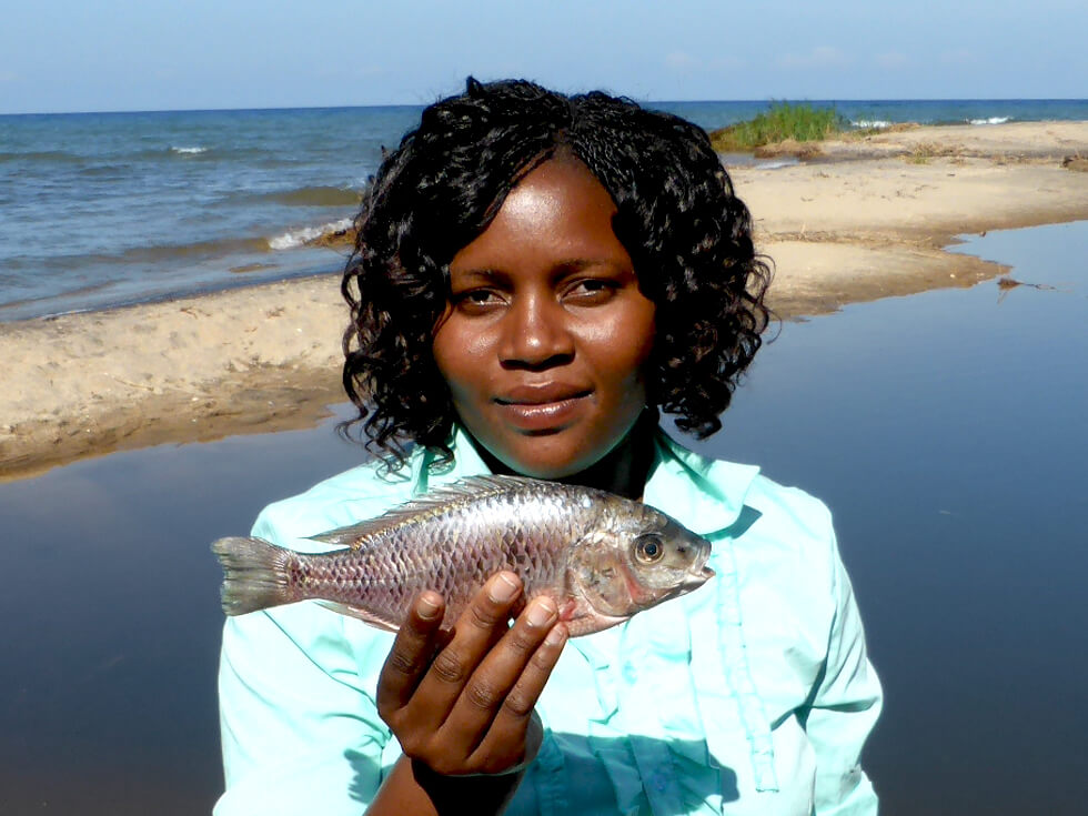 Joyce Banda, Fish Conservation Project Manager Nkhotakota