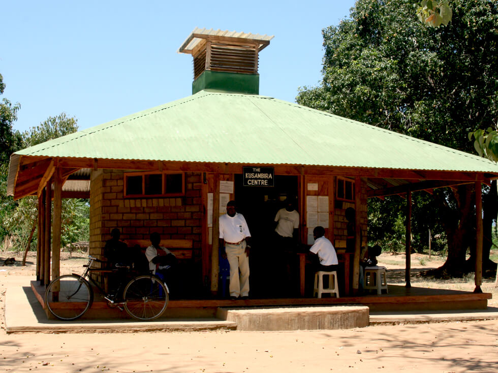 The local Community Library at Mwaya