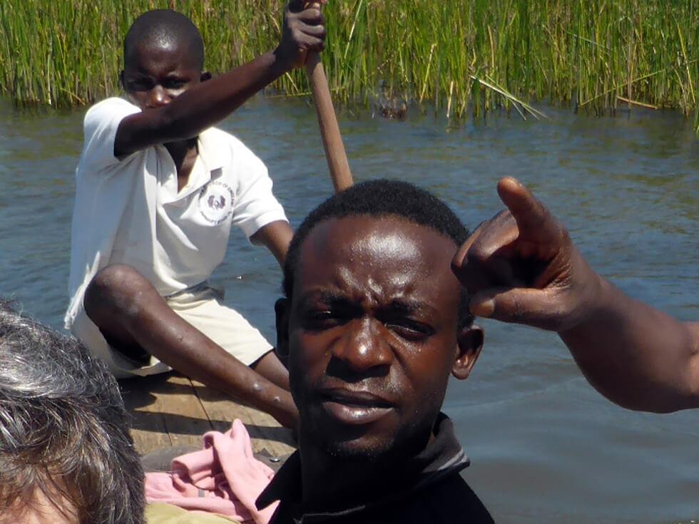 Maluwa Chirambo, Fish Conservation Project Manager Nkhata Bay