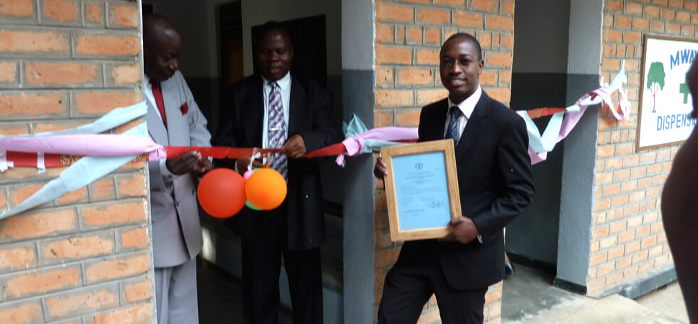 Official opening of the Mwaya Community Dispensary on 22 June 2011