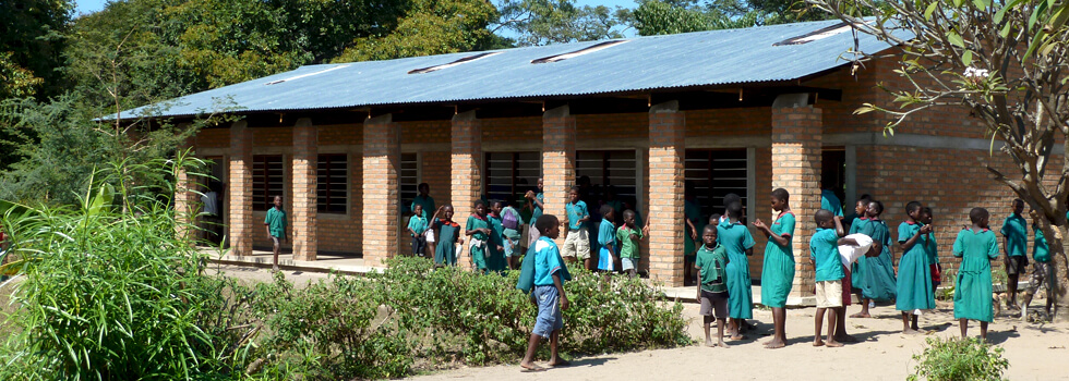 RIPPLE Africa is supporting six local primary schools, has built several classroom blocks, and pays the salaries of 15 trainee teachers