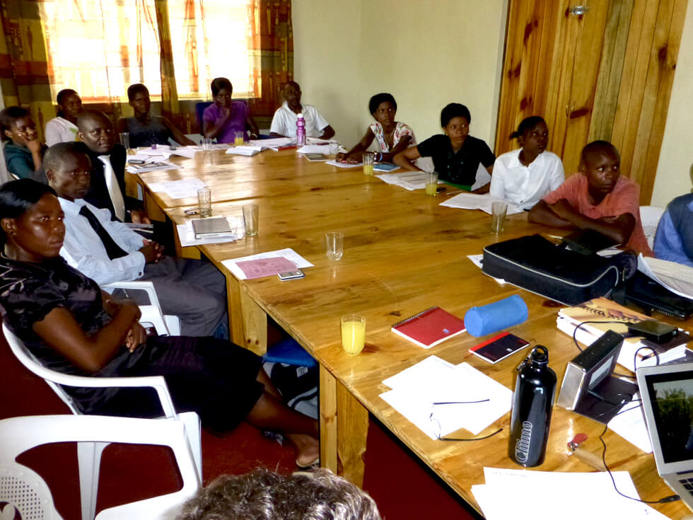 The Malawi head office in Chintheche, which was built in 2013, is an ideal place for meetings and training sessions