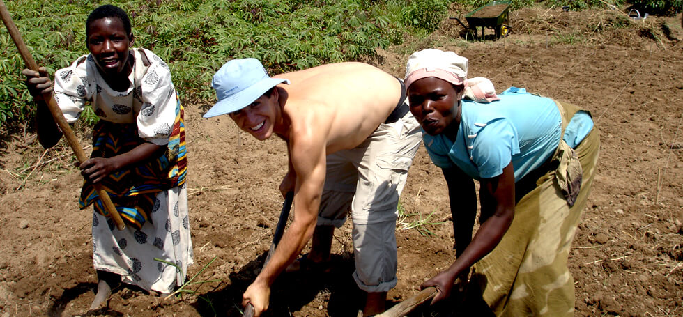 RIPPLE Africa helps communities to establish vegetable gardens for HIV sufferers