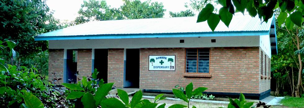 Mwaya Community Dispensary is less than 1km from Mwaya Beach