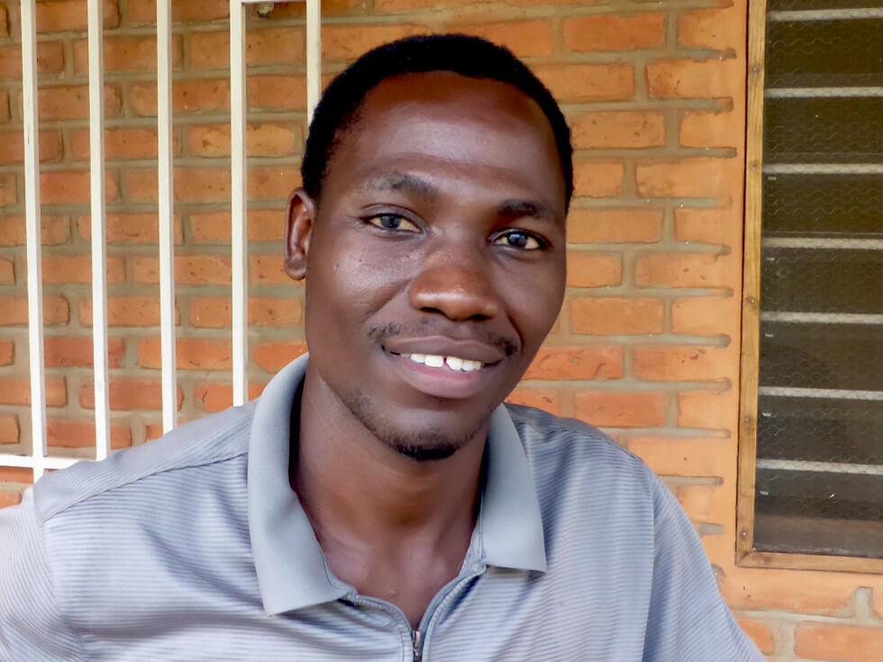 Sam Manda, Monitoring and Evaluation Co-ordinator