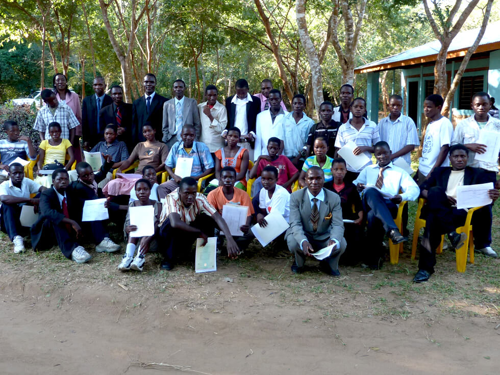 Form 4 Graduation Ceremony, June 2011