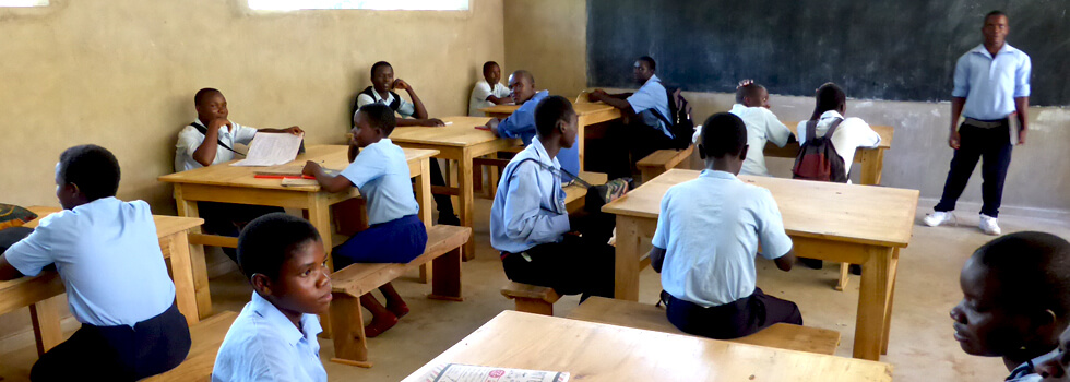 Approximately 40 students a year are supported by RIPPLE Africa's Secondary School Scholarship Scheme