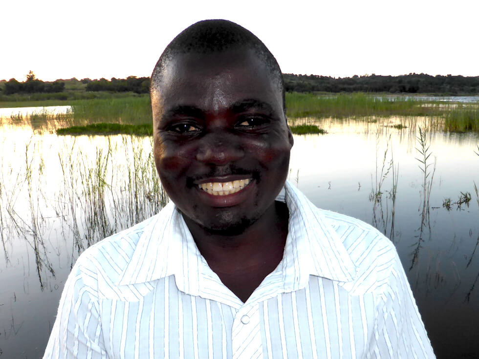 Soloman Moyo, Co-ordinator Fish Conservation