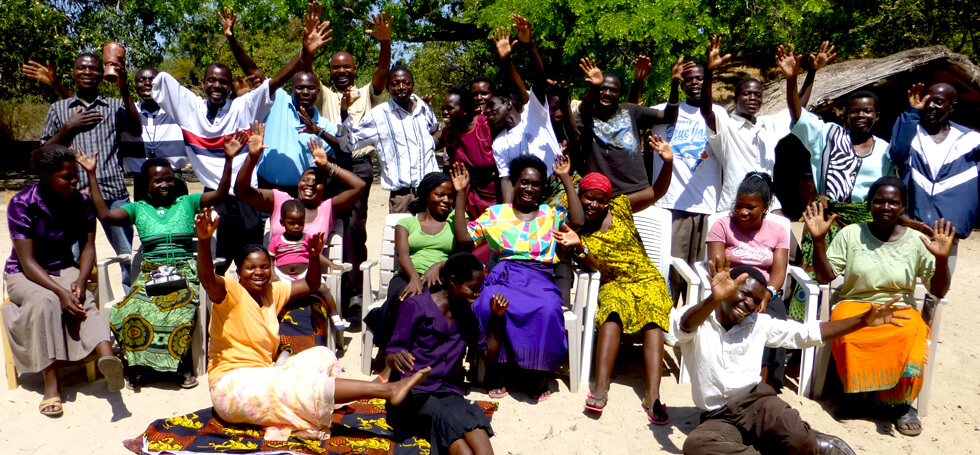 Some of the pre-school teachers employed by RIPPLE Africa