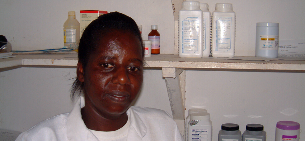 There are often shortages of medicines in the rural health centres