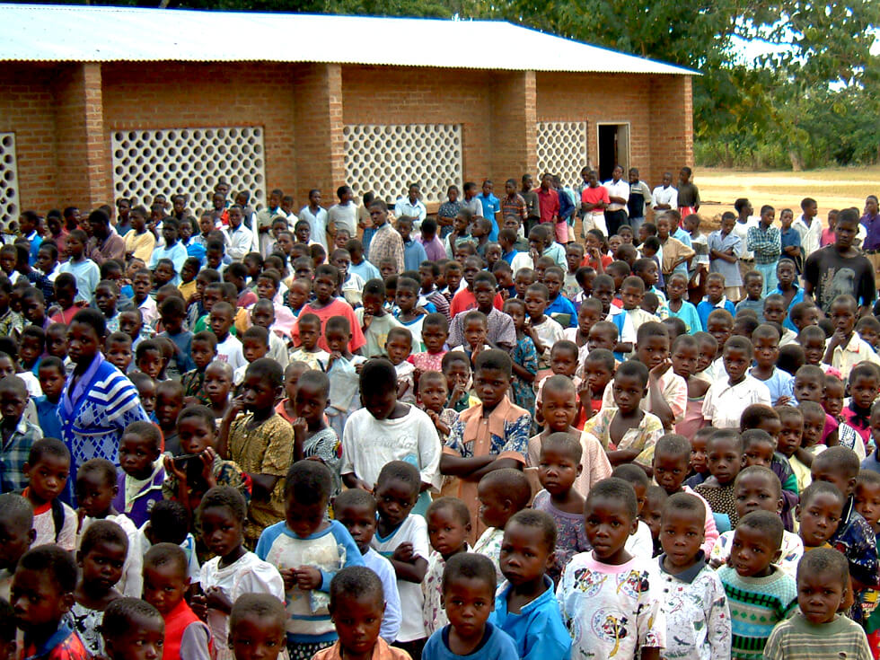 Mwaya Primary School was the first school RIPPLE Africa supported