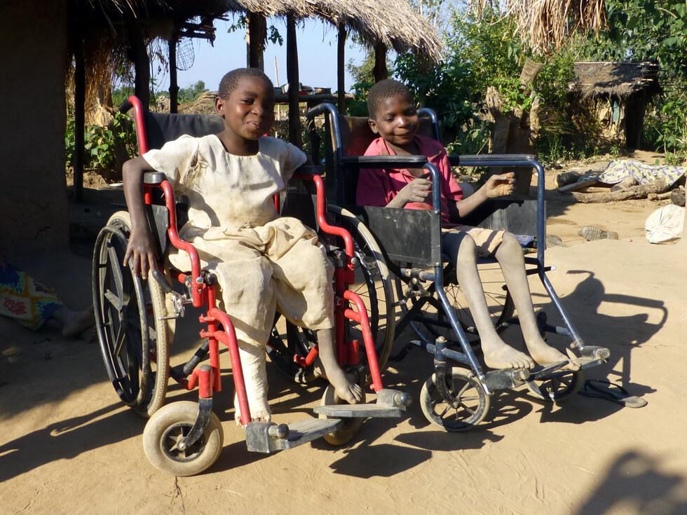 New wheelchairs