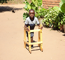 RIPPLE Africa's Disabilities and Rehabilitation Project is a project which aims to improve the quality of life for people in the local community who are living with disabilities.