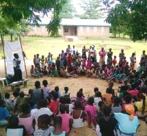 RIPPLE Africa are working in local schools and community groups to highlight the problems arising from having large families and the impact on Malawi, its resources and the individual families.