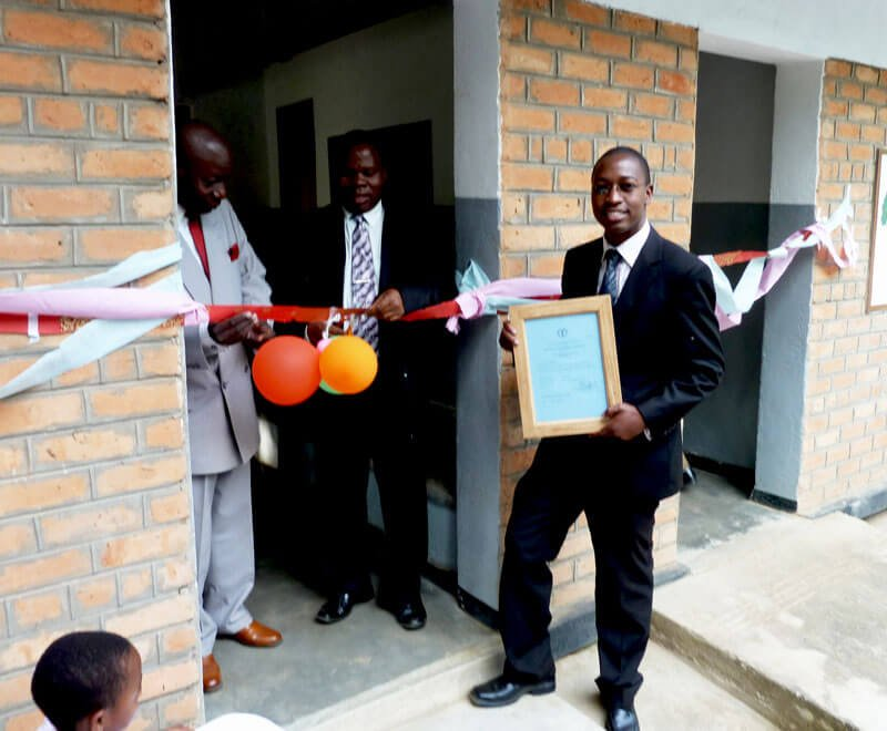 Official opening of the Mwaya Community Dispensary in Malawi Africa