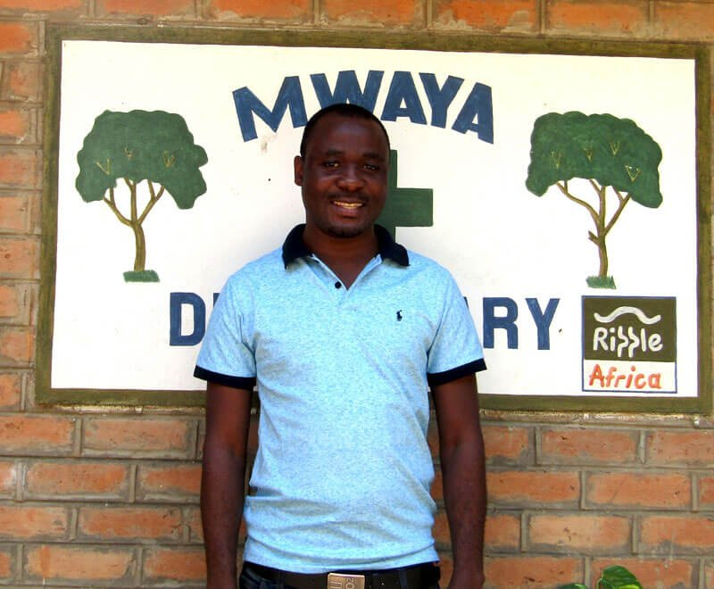 Gift is the Medical Officer running Mwaya dispensary in Malawi