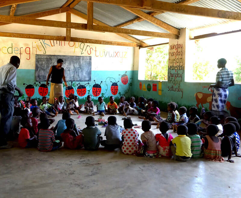 Foundation education, group play preschool ripple africa malawi