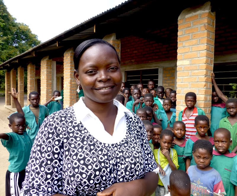 This headteacher knows the challenges affecting primary education in Africa