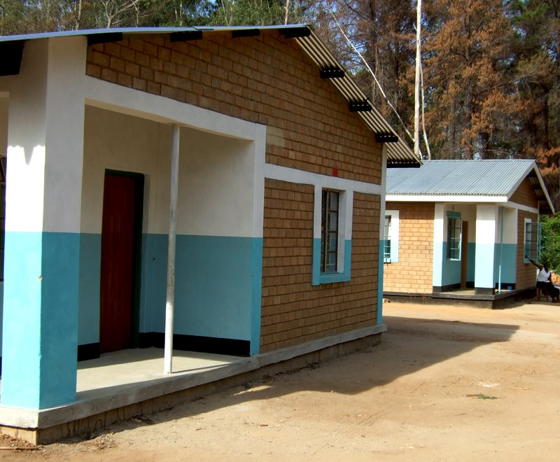 Teachers house attract good teachers a key to improving secondary school education in Africa