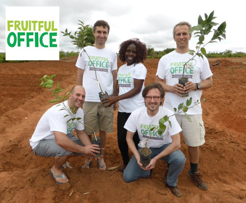 Corporate partners visit Malawi to see the tree planting project they support