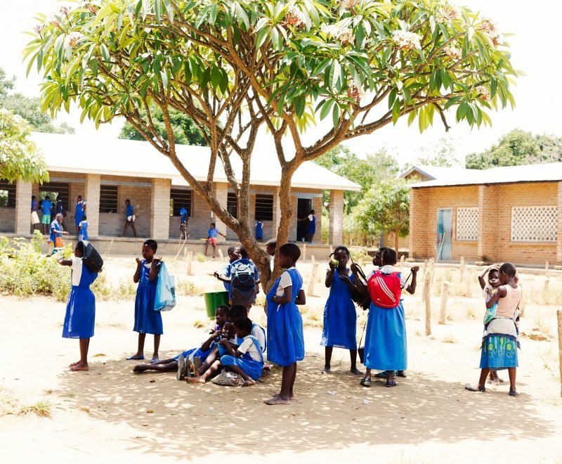 A view of how education charities in Africa can help improve schools