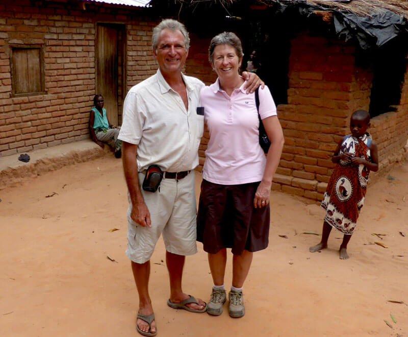Geoff and Liz Furber run a charity in Malawi Africa