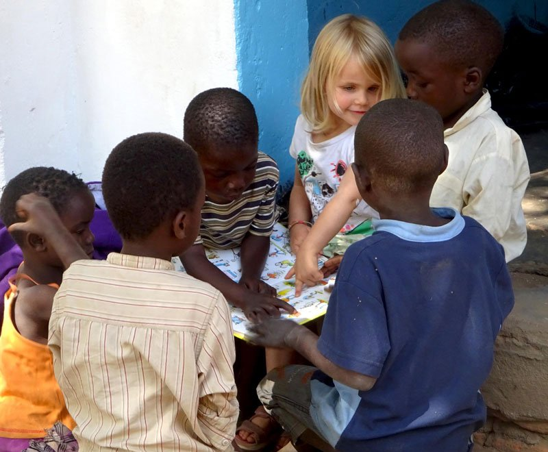 Families are welcome to visit Ripple Africa in Malawi