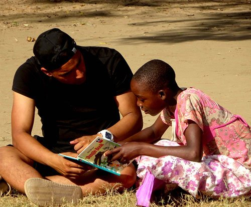 Education volunteer projects in Africa