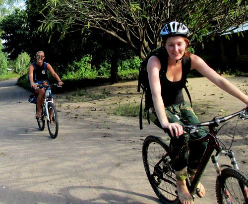 Cycle to placements in rural Malawi