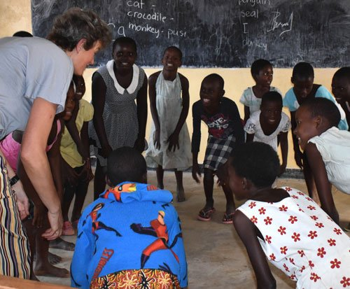 Primary teacher volunteer in Malawi
